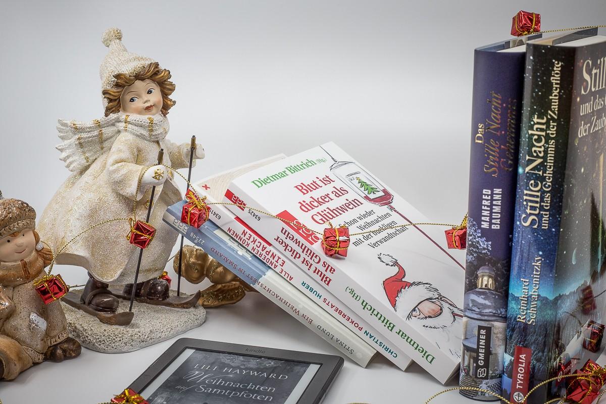 Weihnachtsneuerscheinungen - Blut ist dicker als Glühwein - Kurzgeschichten