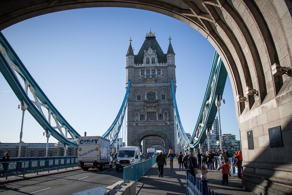 Der Tag mit dem London Pass beginnt auf der Tower Bridge