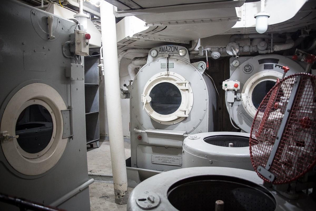 Amazon Waschmaschinen auf der HSM Belfast