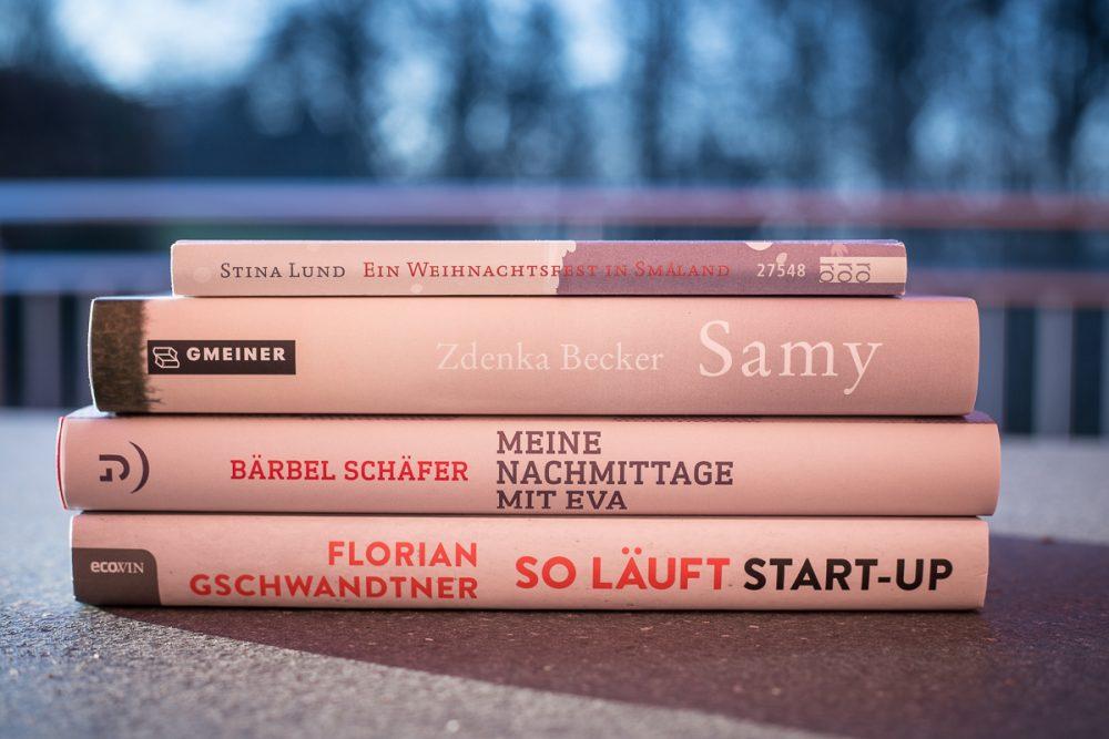 BuchSaiten Blogparade - Meine Bücher 2018
