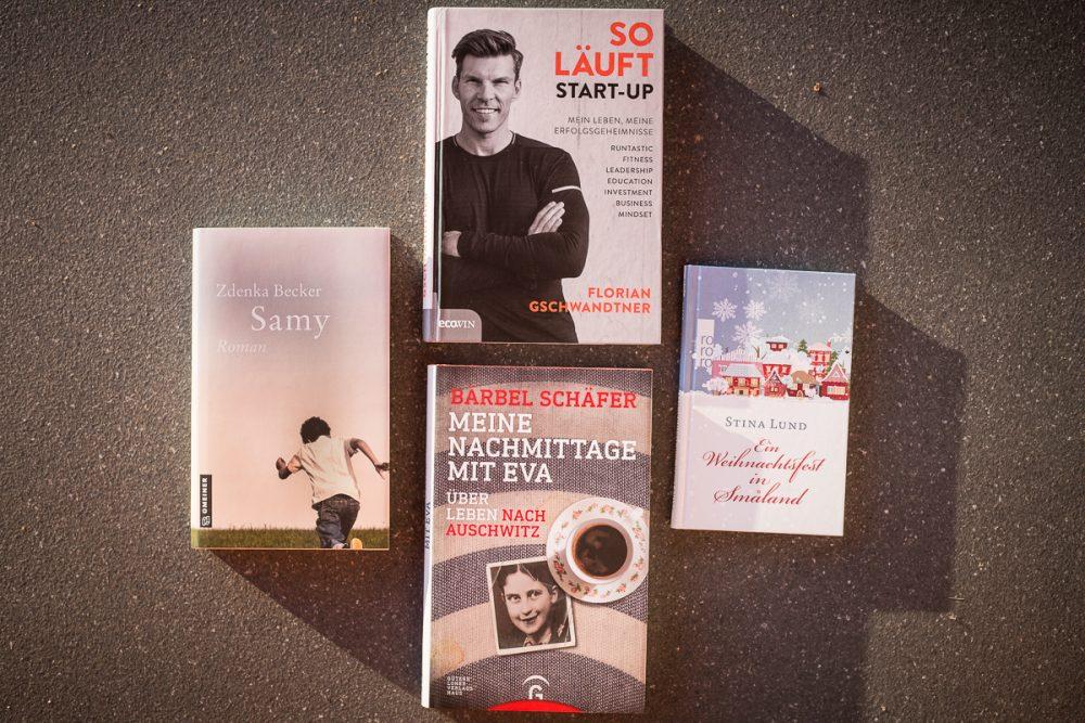 """""""So läuft Start-up"""", """"Ein Weihnachtsfest in Smaland"""", """"Samy"""" und """"Meine Nachmittag mit Eva"""""""