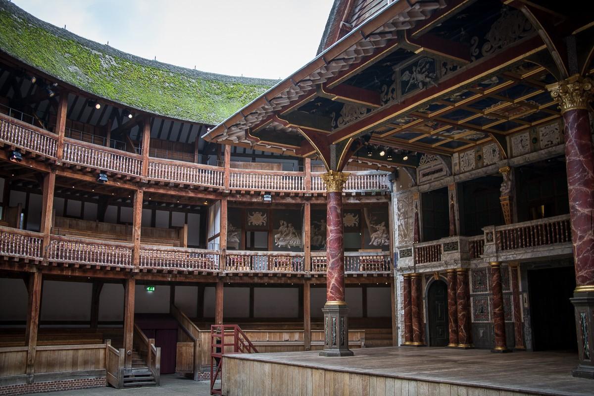 Shakespear - The Globe Theater in London - Freilufttheater