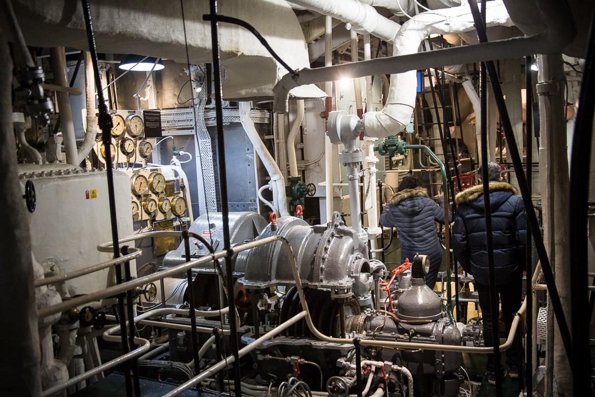 Im Maschinenraum der HSM Belfast