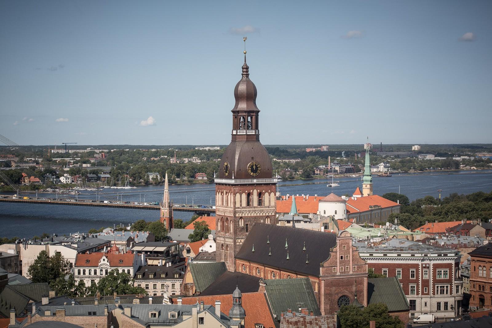 Riga - Aussicht von der Petrikirche