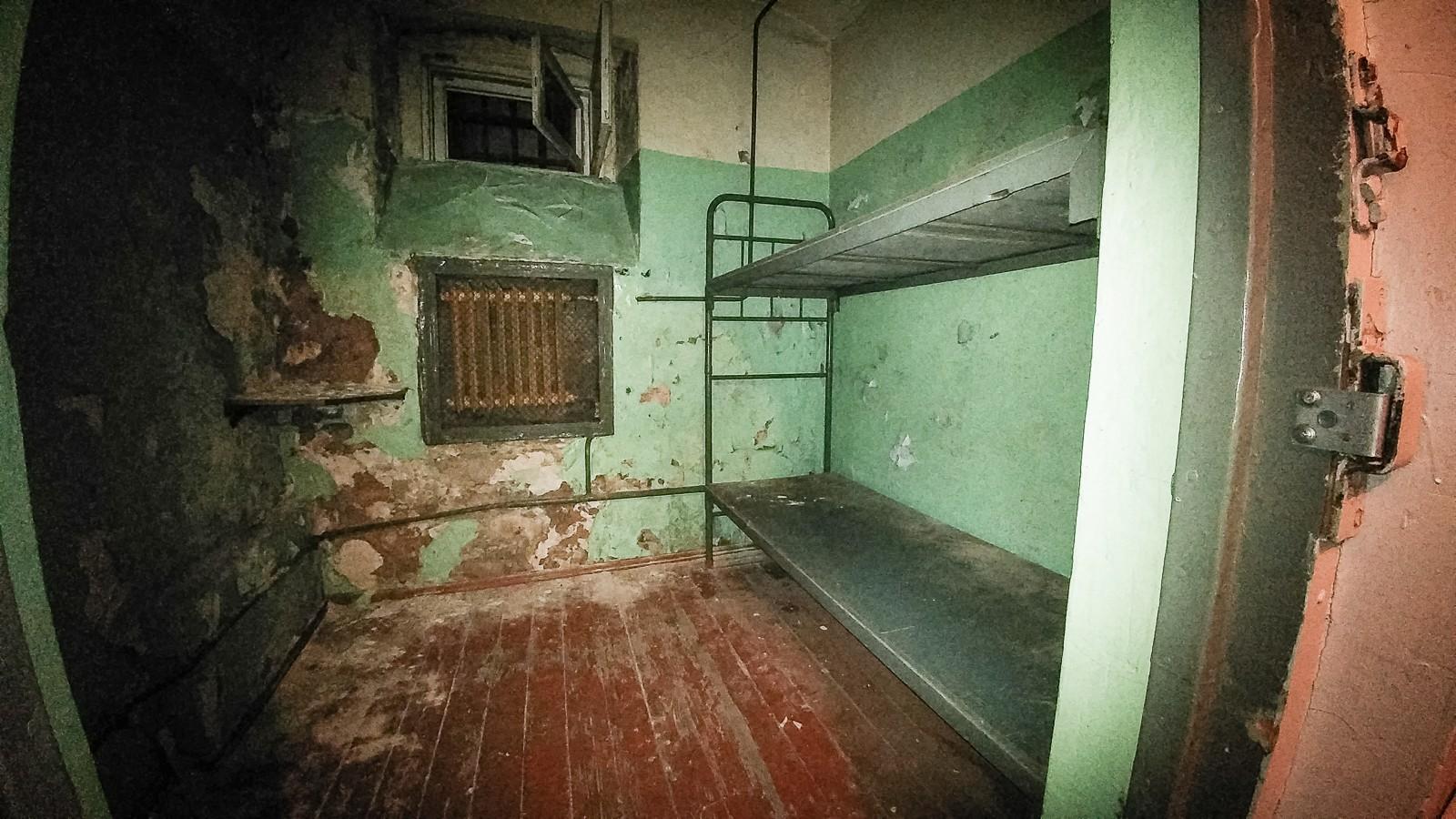 Im Keller des KGB Haus in Riga
