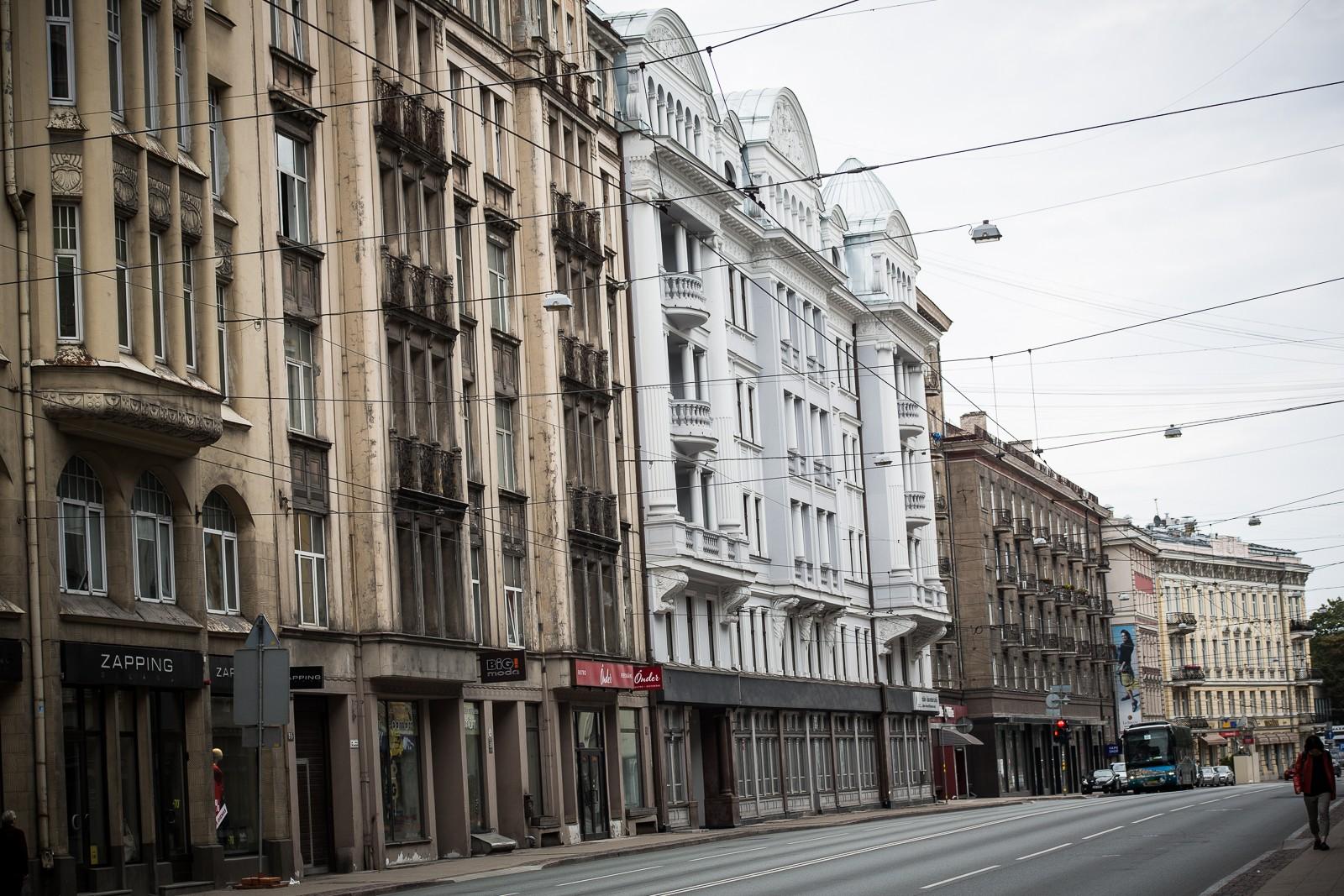 Riga - KGB Haus von außen