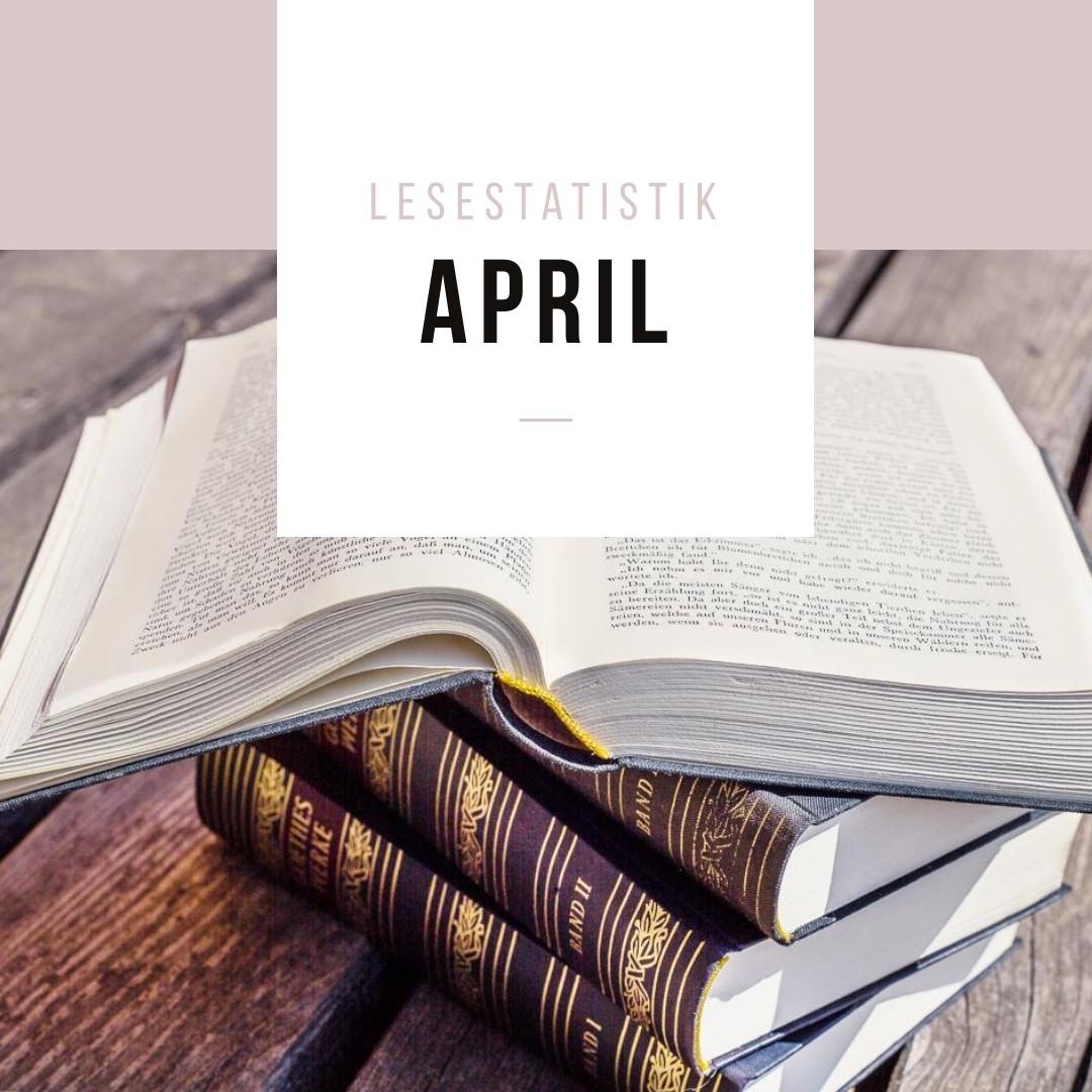Lesestatistik April