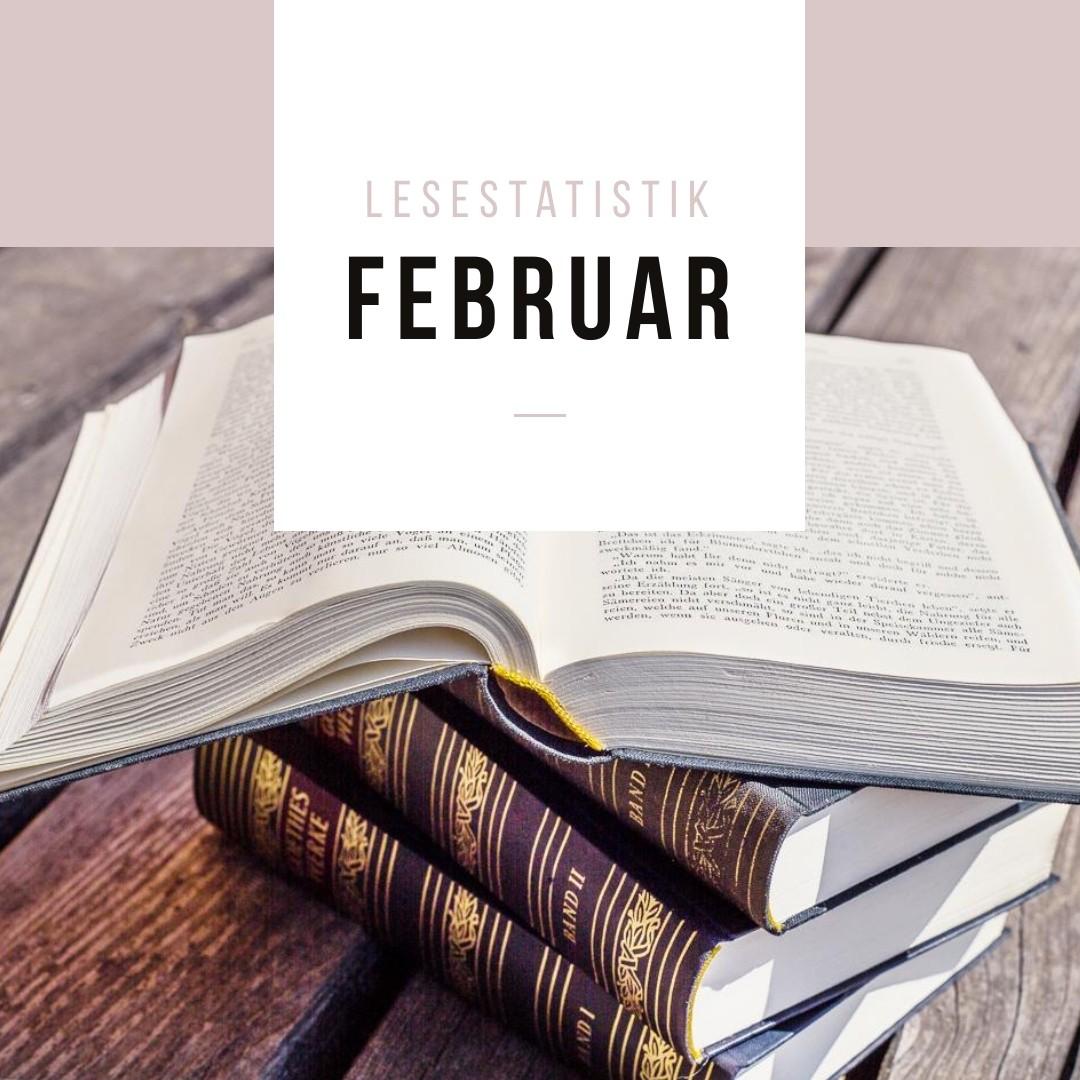 Lesestatistik Februar
