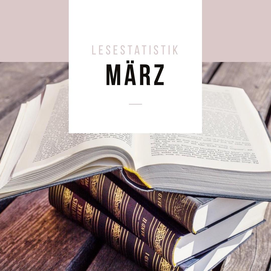 Lesestatistik März