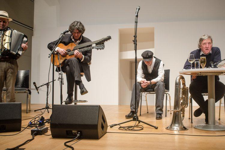 Lesung & Musik – Antonio Fian & Kollegium Kalksburg
