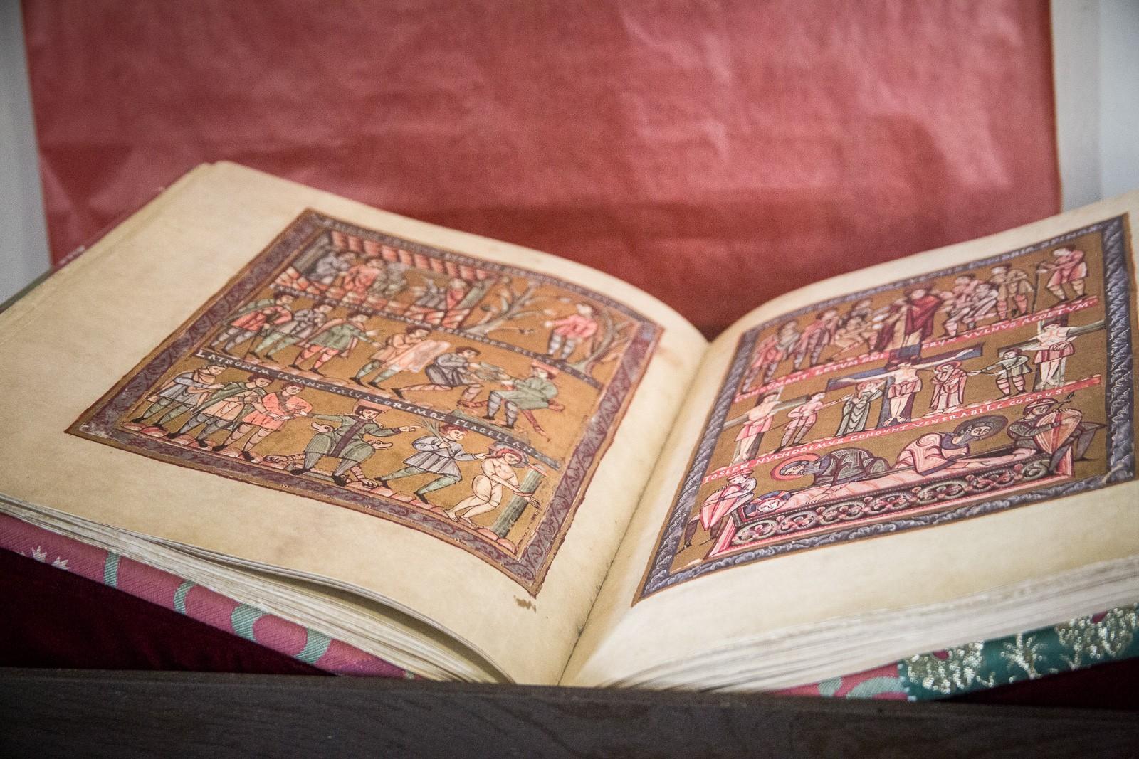 Codex Wyssegradensis in der Nationalbibliothek in Prag