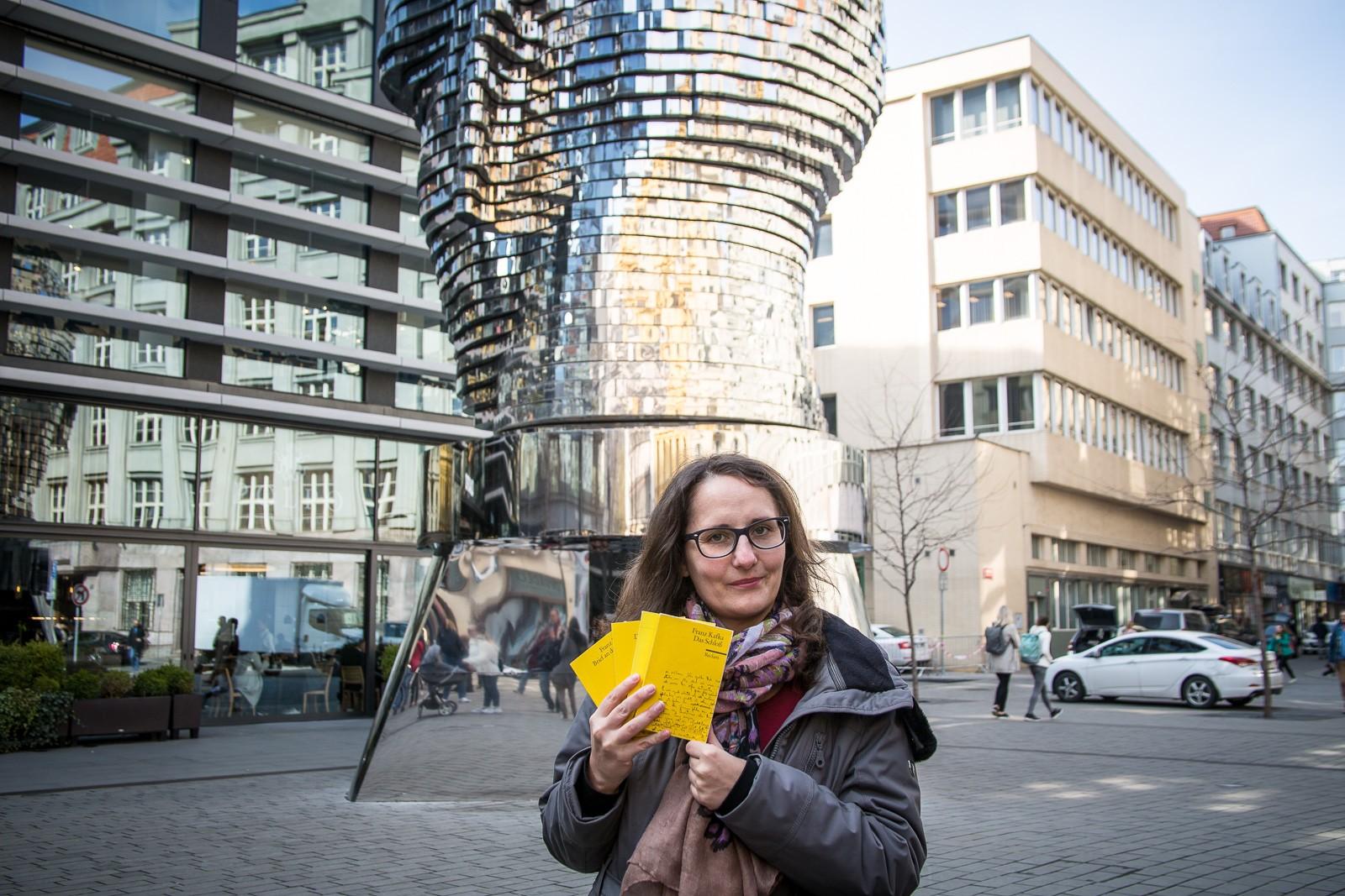 Lesefreude auf den Spuren von Franz Kafka in Prag