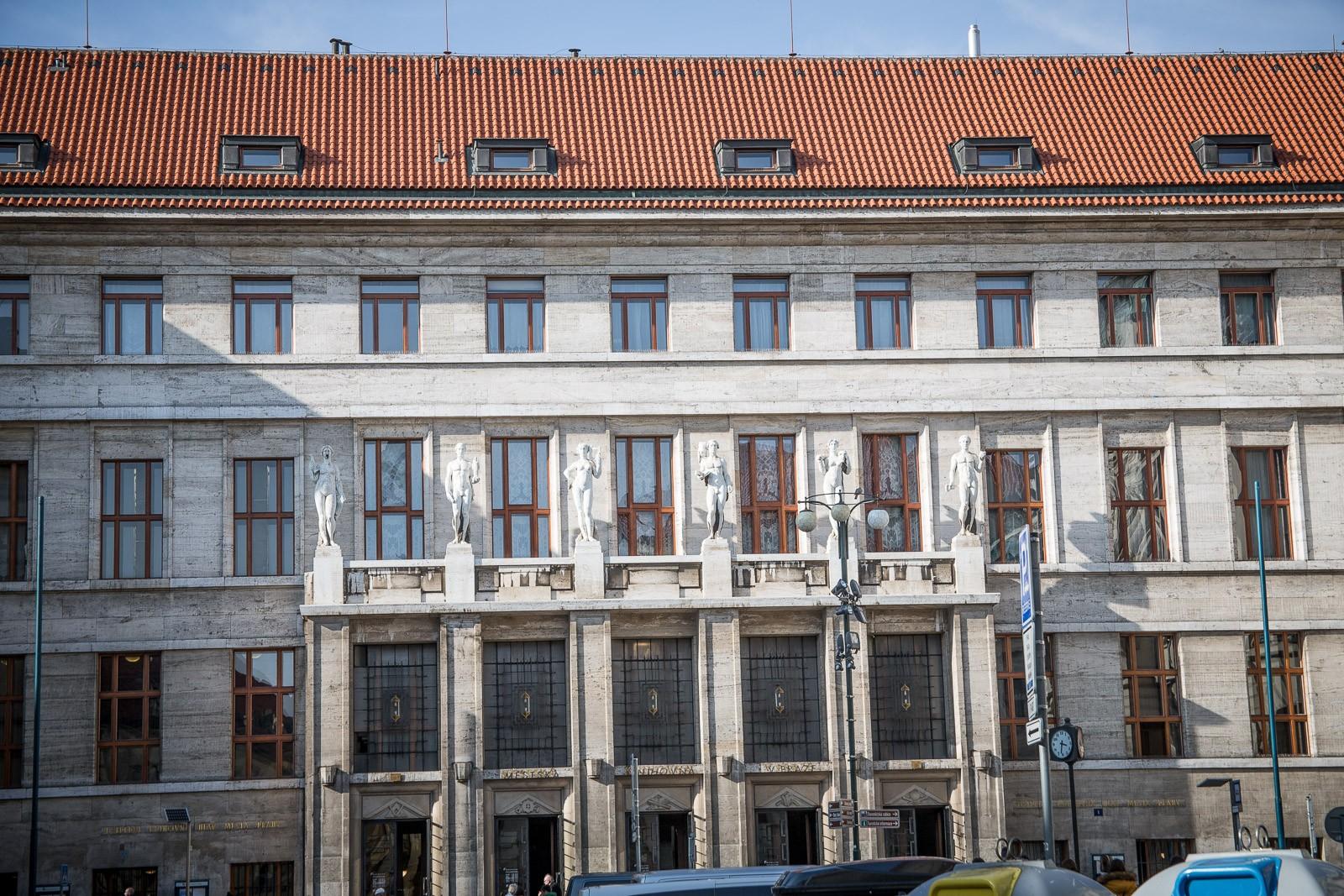 Öffentliche Bibliothek in Prag