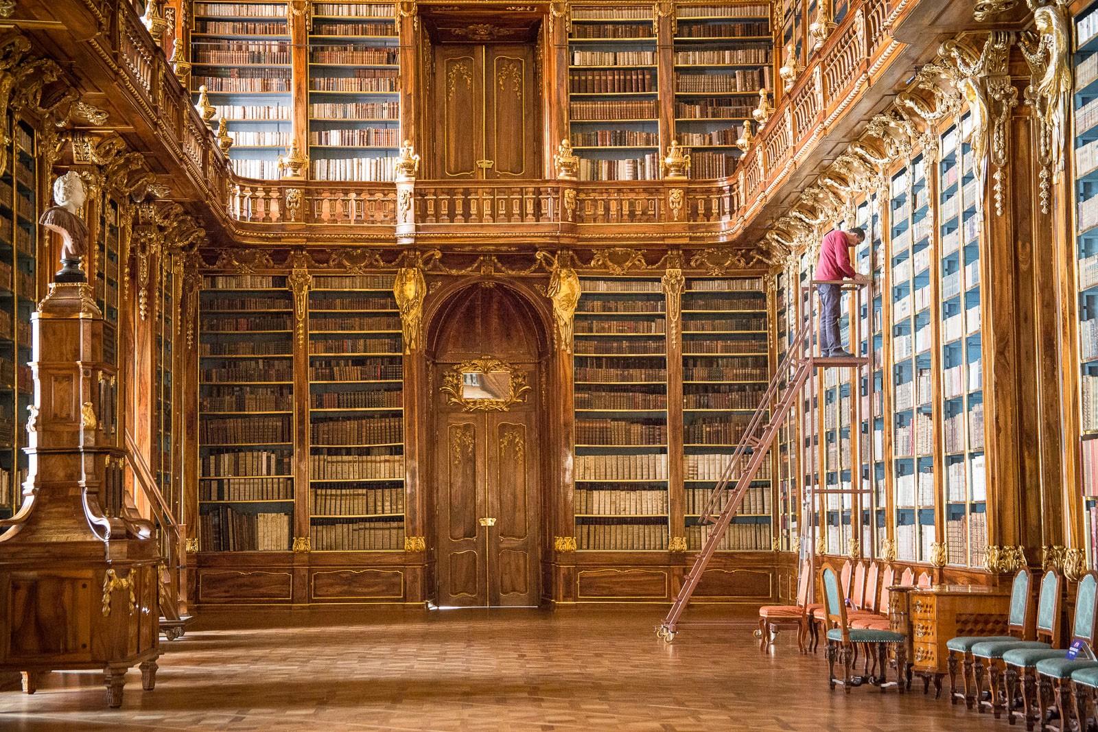 Strahov Bibliothek - Philosophischer Saal