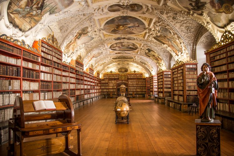 Theologischer Saal in der Strahov Bibliothek