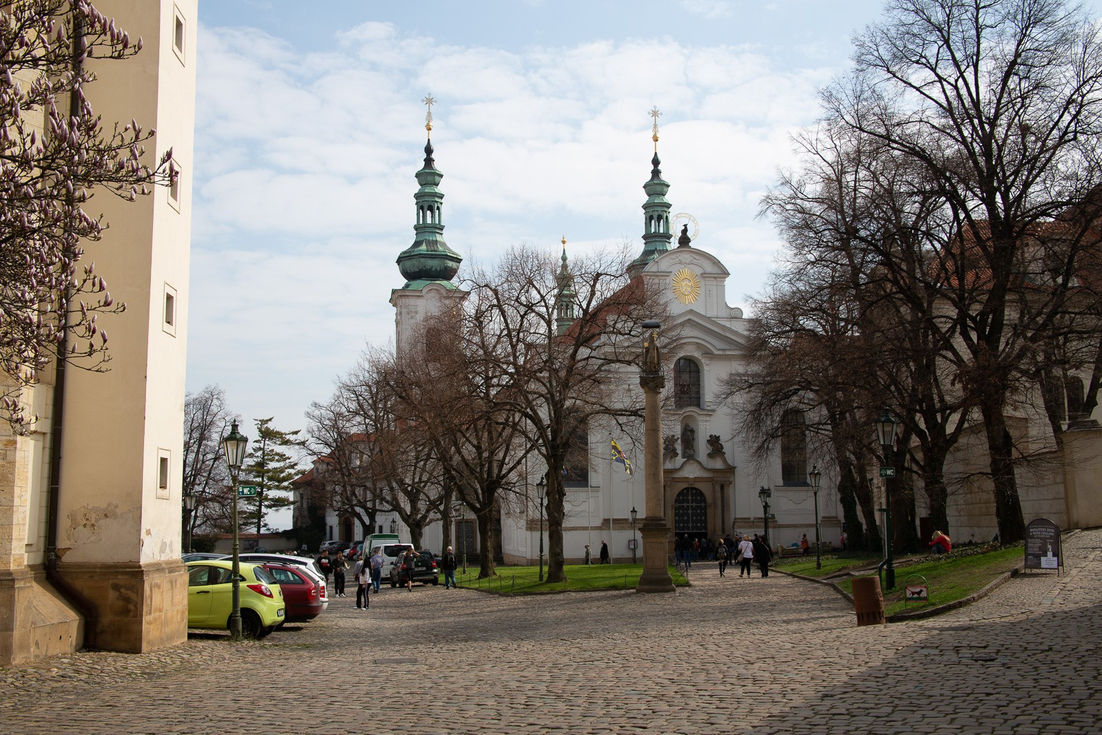 Strahov Kloster in Prag