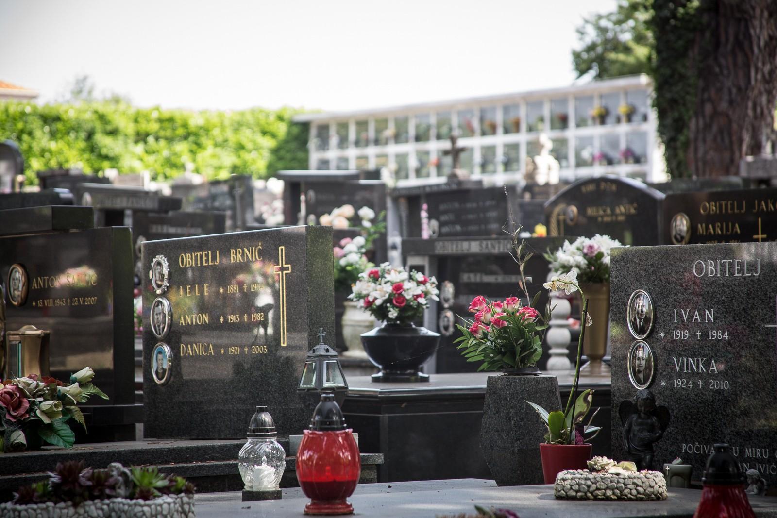 Drobinj - Friedhof