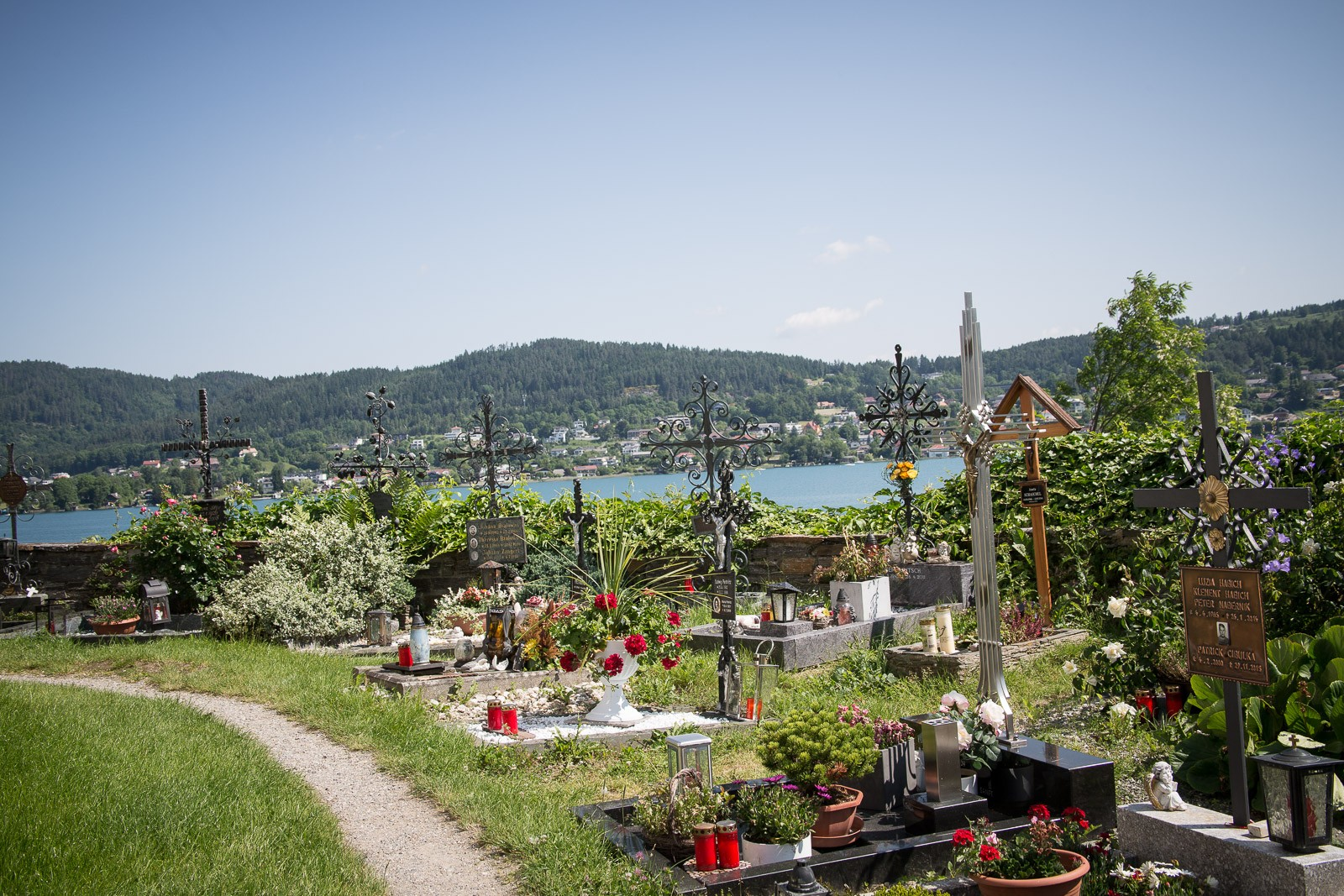 Der Friedhof in Maria Wörth