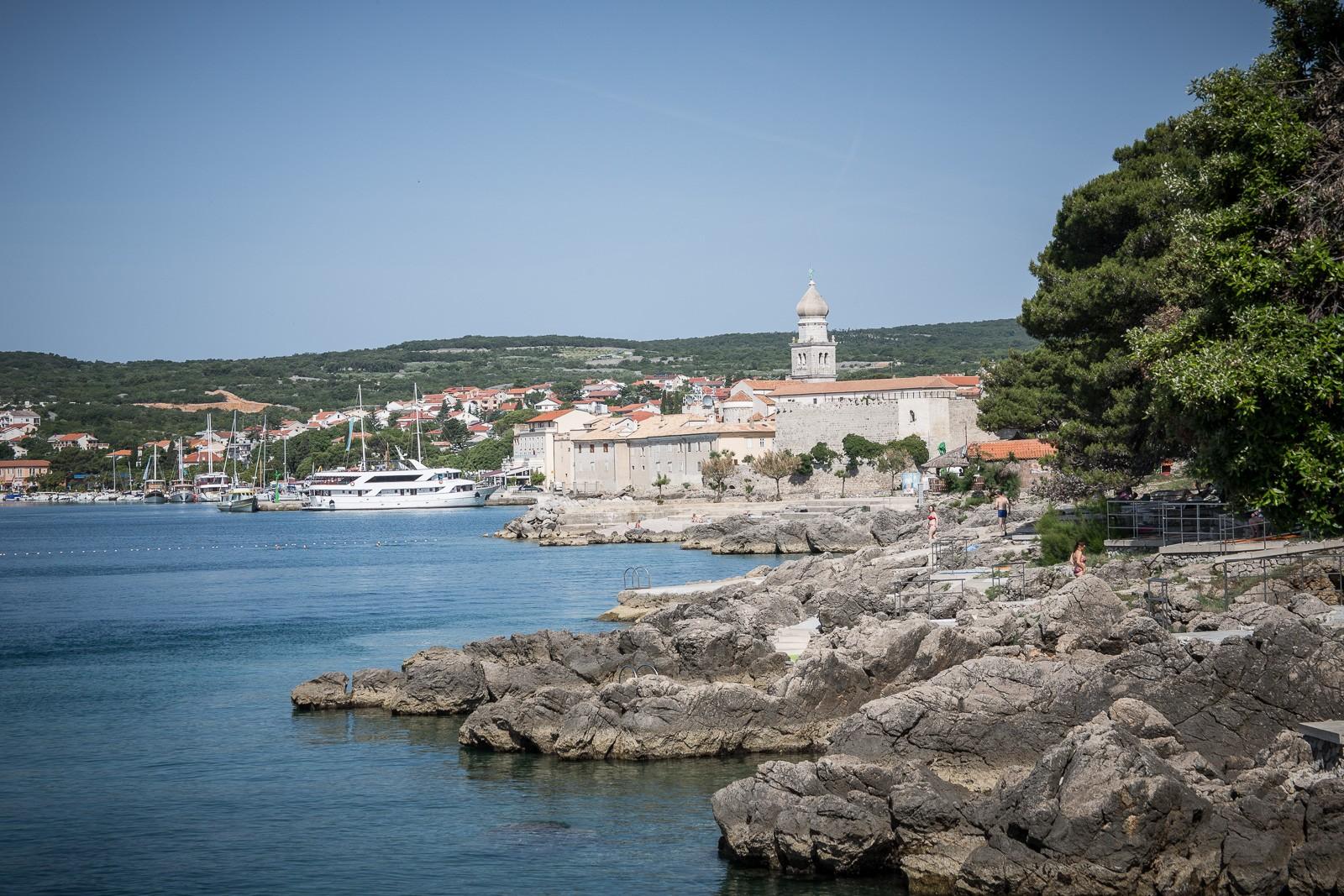 Krk, Kroatien, Strand, Erholung und mehr