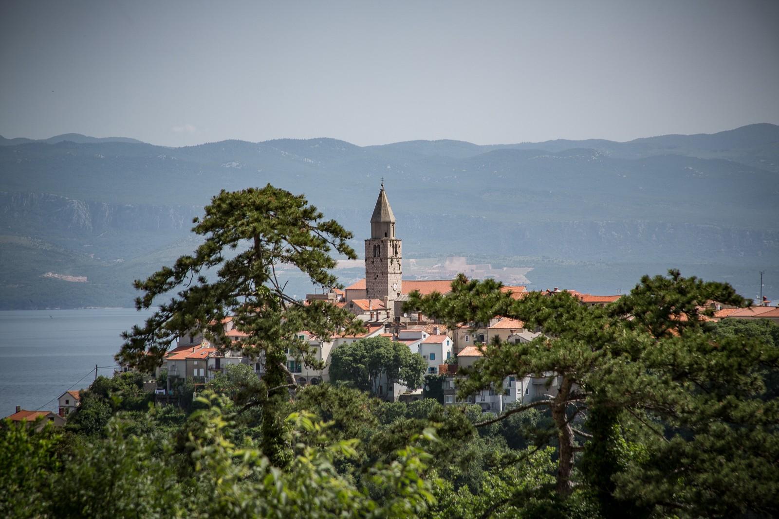 Vrbnik auf der kroatischen Insel Krk