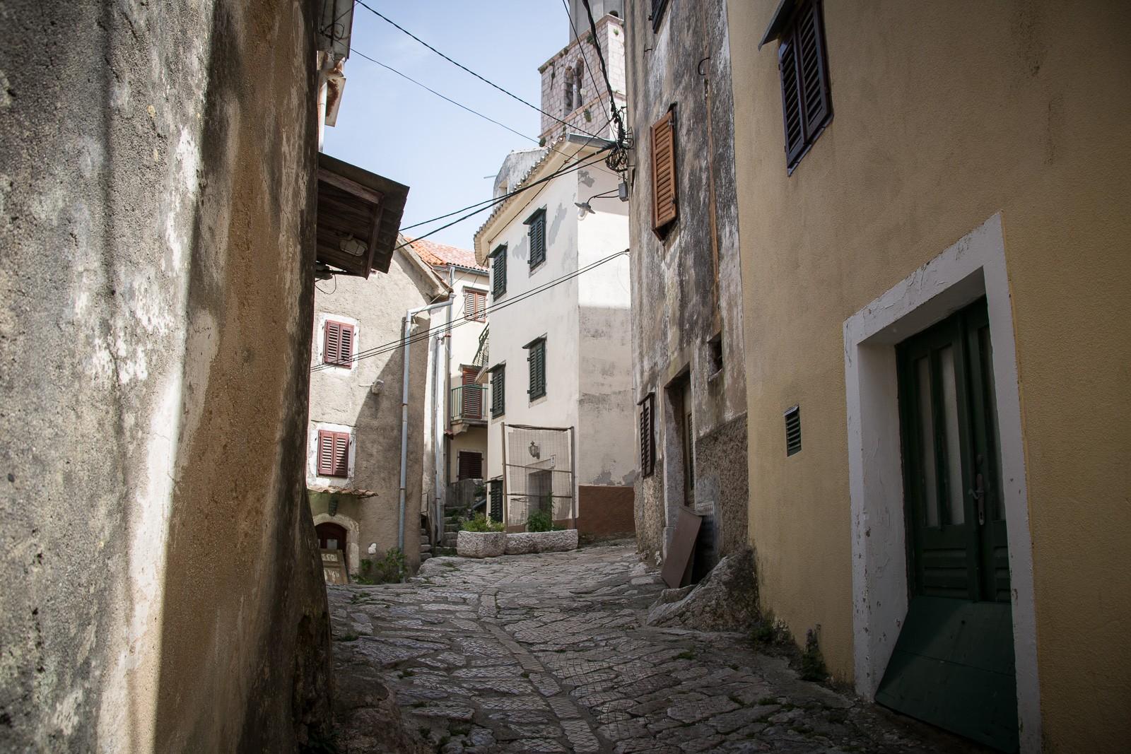 Gasse in Vbrnik