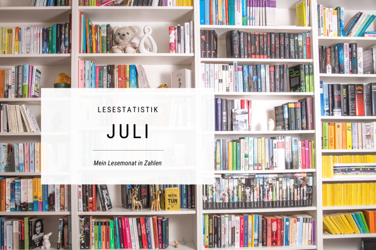 Lesemonat Juli in Zahlen