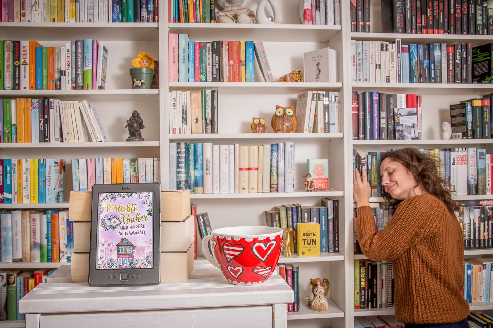 Verliebte Bücher - Franziska Erhard