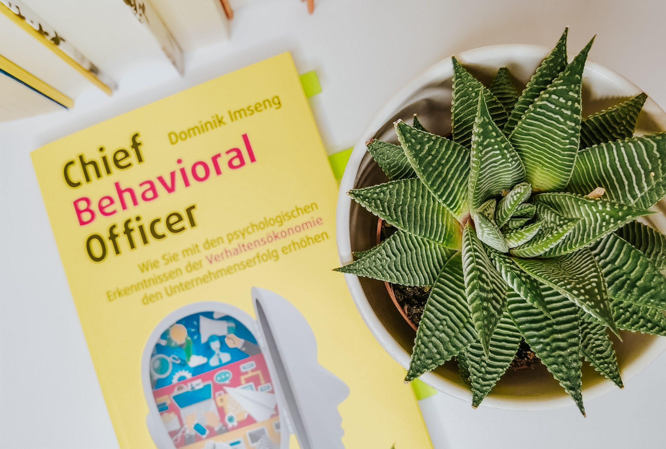 Chief Behavioral Officer - Verhaltensökonomie